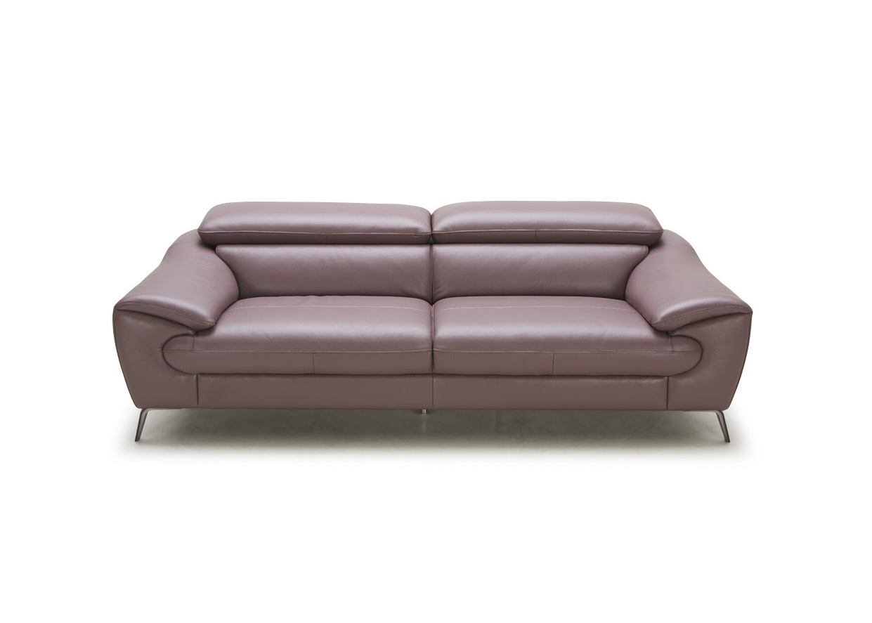 Modern Sofa With Adjustable Headrests Not Just Brown