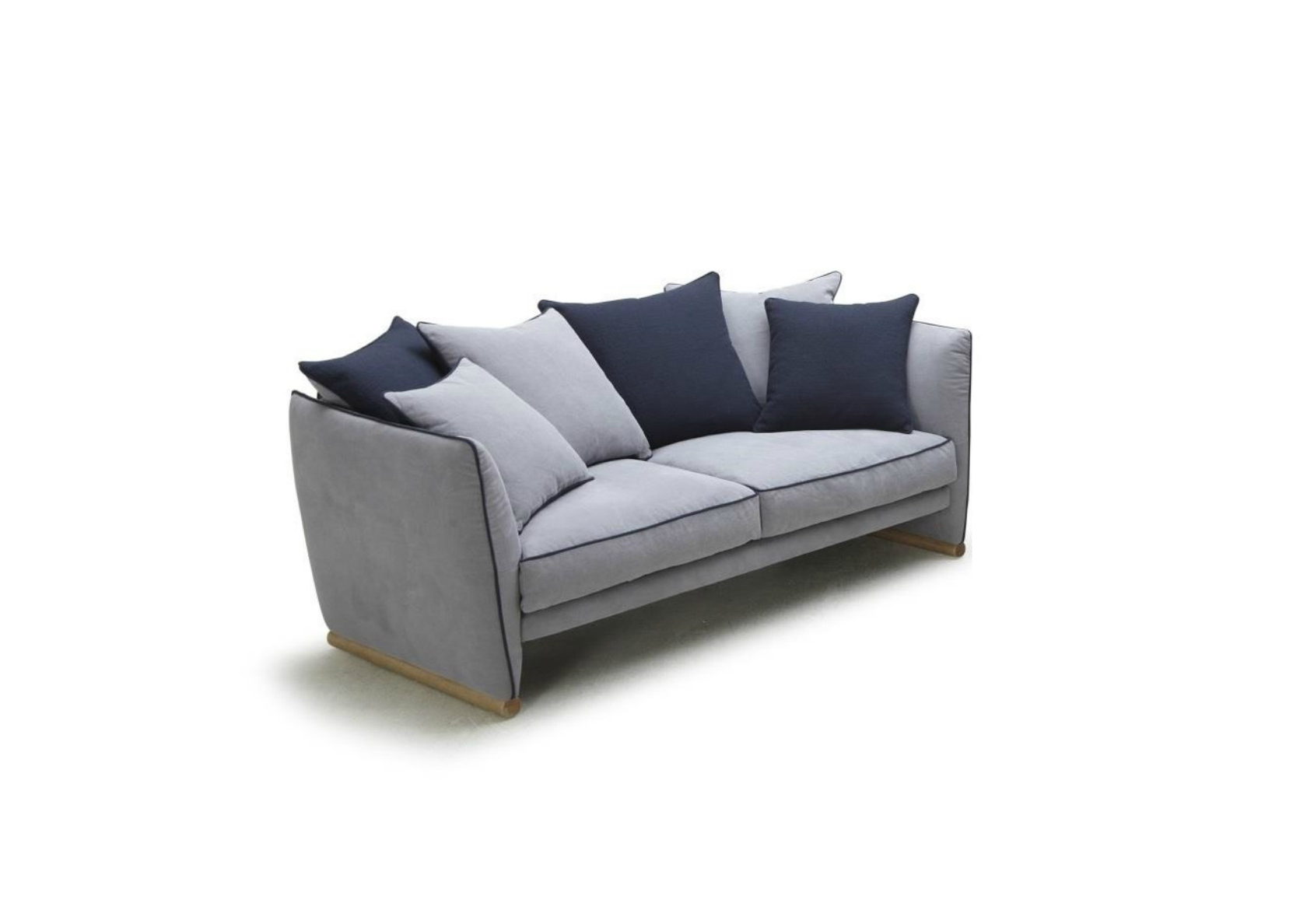 Sapphire Sofa In Rich Navy Blue Fabric Not Just Brown