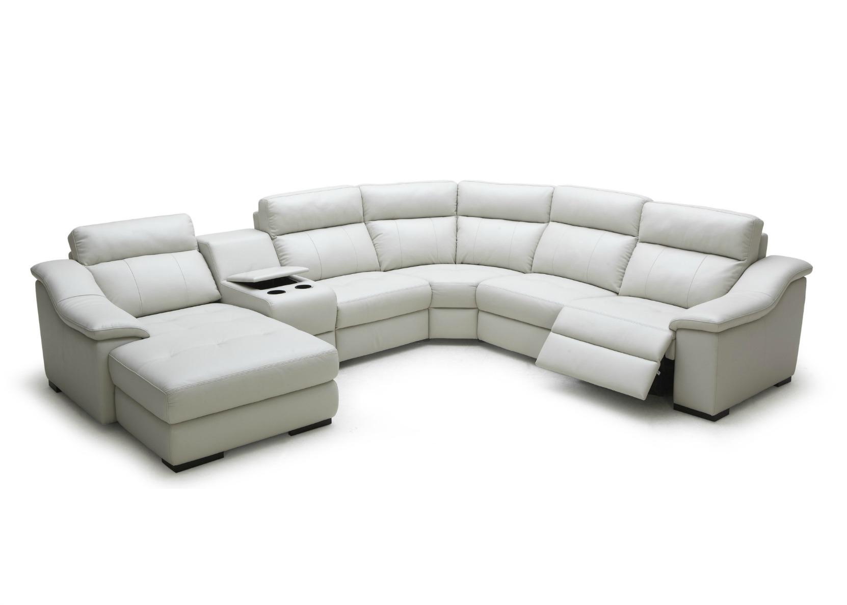 Modular Group Sofa With Motorized Reclining Seats Not