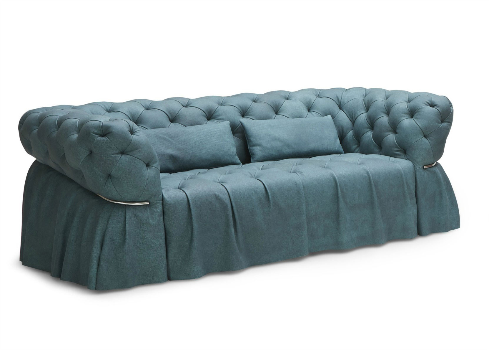 Chesterfield Sofa In A Neo Classic Look Not Just Brown