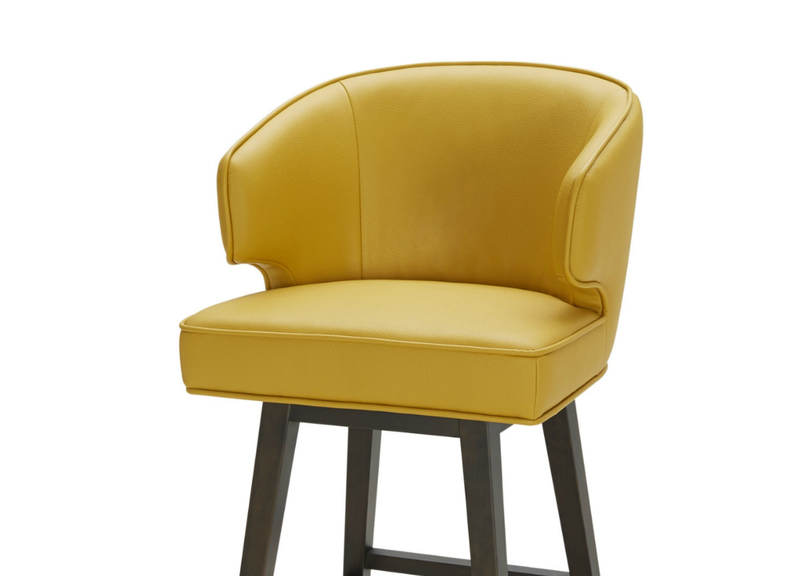 Daisy Bar Stool In Bright Yellow Leather Not Just Brown : Y1152 0 from www.notjustbrown.com size 1662 x 1188 jpeg 153kB