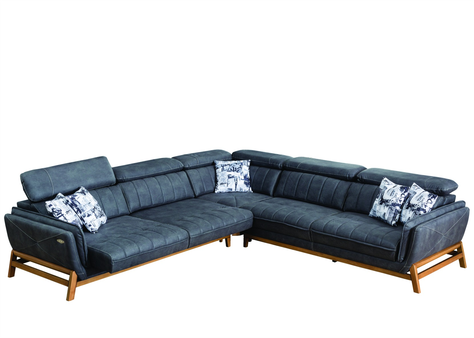 Lounge Sofa With Motorized Sliding Seat Not Just Brown