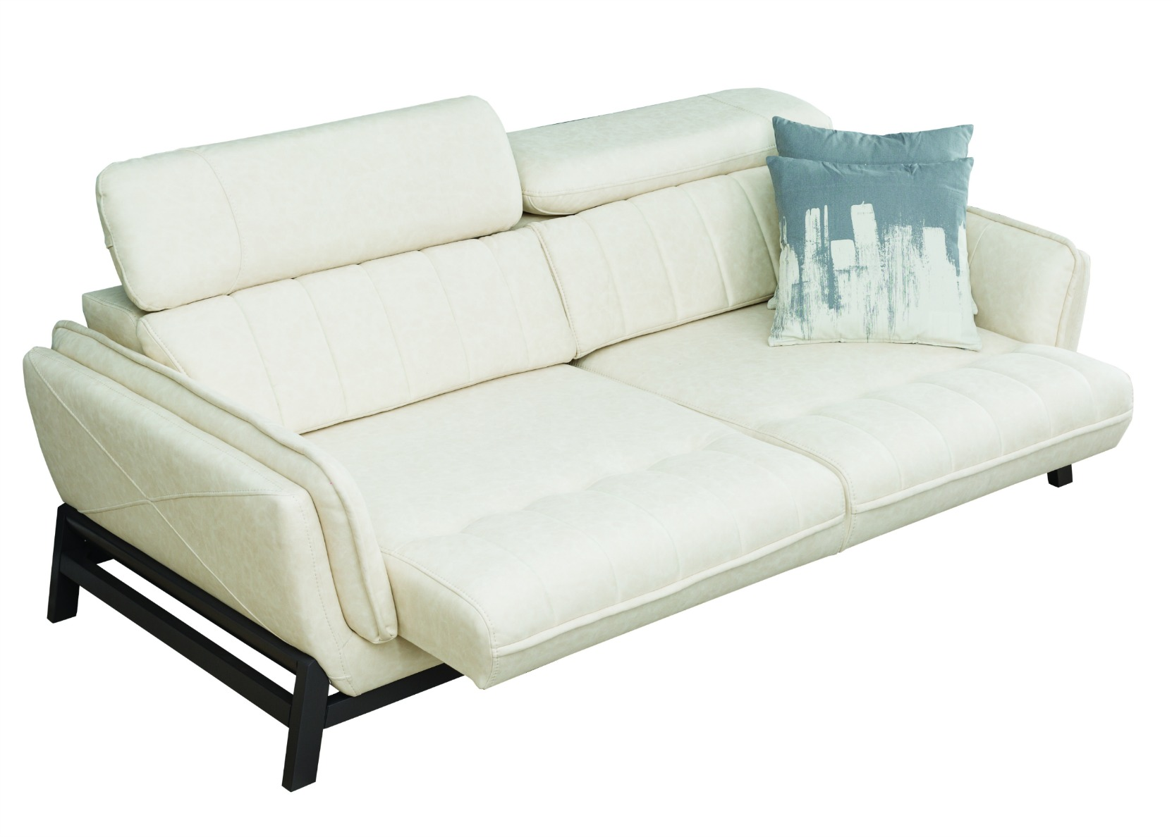 Relax Sofa With Motorized Sliding Seat In White _V4A3541 Copy 0 _V4A3547  Copy 0 ...
