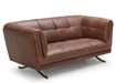 Baron Sofa In Antique Finished Leather