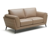 Ivy Sofa In Dusty Pink Leather