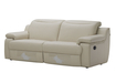 Plum Sofa With Motorized Reclining Function