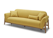Prim Fabric Sofa With Solid Wood Frame