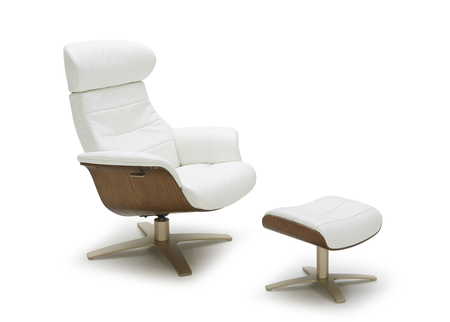 Karma Reclining Lounge Chair & Ottoman