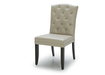 Dining Chair With Tufting & Silver Studs