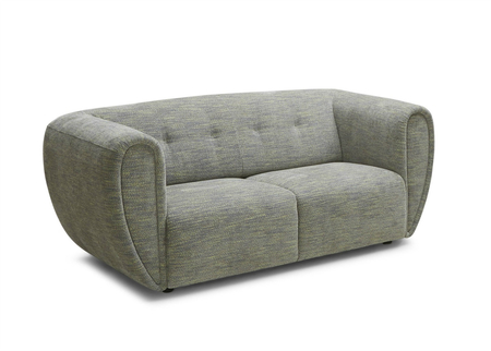Eva Sofa In Light Gray Fabric