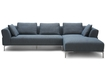 Contemporary Lounge Sofa In Blue