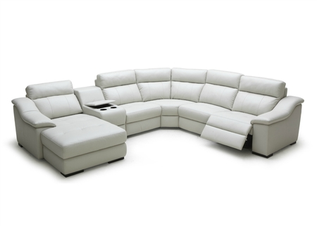 Modular Group Sofa With Motorized Reclining Seats