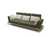 Contemporary Fabric Sofa With Low Seating