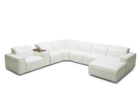 6 Seater Corner With Motorized Reclining Seat