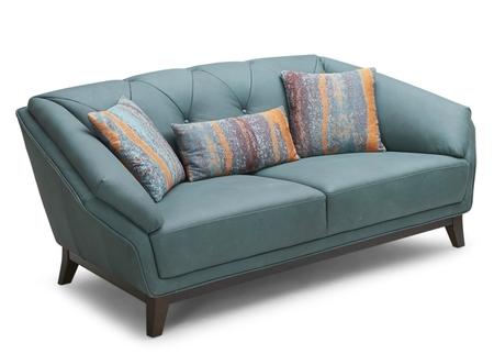 'Opal'Sofa In Rich Nubuck Leather