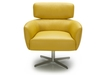 Contemporary Lounge Chair With Medium Back