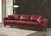 Gold Chesterfield Sofa In Art Leather