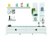 Crose TV Cabinet In White Lacquer
