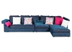 Sectional Sofa With Adjustable Headrest